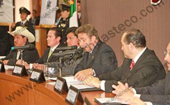 El gobernador del estado, Fernando Toranzo Fernández, presidió la instalación y primera sesión ordinaria