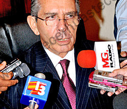 Secretario de Finanzas del Gobierno estatal, Jesús Conde Mejía