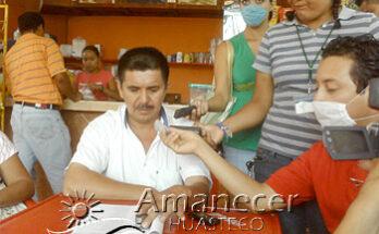 Ernesto Márquez Torres, comisariado ejidal de las Palmas