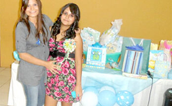 Baby shower para Mariana Ruiz