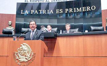 OCTAVIO PEDROZA EXHORTA A ESTADOS QUE EXPIDAN LEY DE EJECUCIÓN DE MEDIDAS JUDICIALES Y SANCIONES PENALES