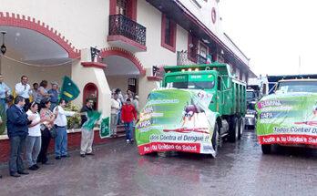 INICIA MUNICIPIO CAMPAÑA DE DESCACHARRIZACION PARA PREVENIR EL DENGUE