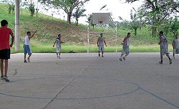 Próxima final de la liga municipal de basquetbol