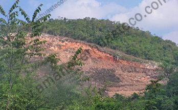 La construcción de la carretera de cuota Valles-Rayón, encontro en Tamasopo ruinas arqueológicas.