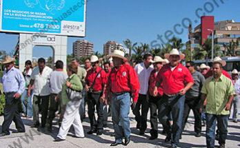 Con presencia de mas de 15,000 productores de caña de todo el país se celebro el Congreso de la Unión Nacional de Productores de Caña de Azúcar de la CNC
