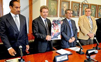 el evento se realiza con el fin de recaudar fondos por mas de 700 mil pesos para el Hospital Central Dr. Ignacio Morones Prieto