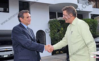 el Gobierno del Estado de San Luis Potosí, recibió en visita de trabajo al Embajador de los Estados Unidos de Norteamérica en México